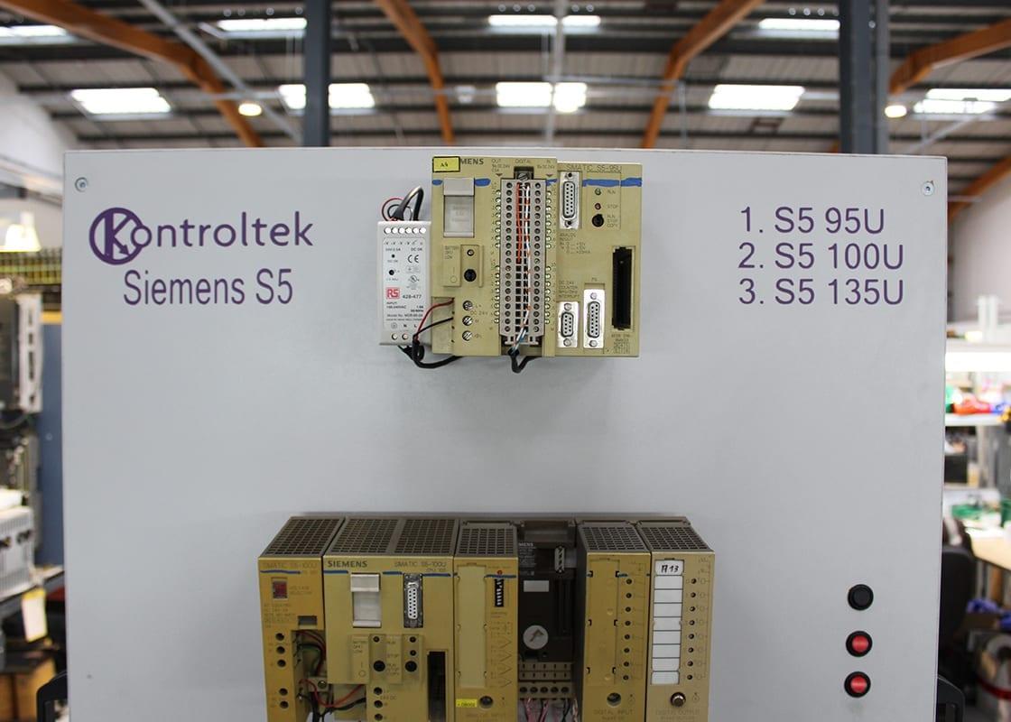 Kontroltek Siemens S5 test rig. S5 95U S5 100U S5 135U