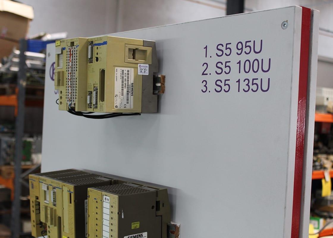 Kontroltek Siemens S5 test rig. S5 95U S5 100U S5 135U.